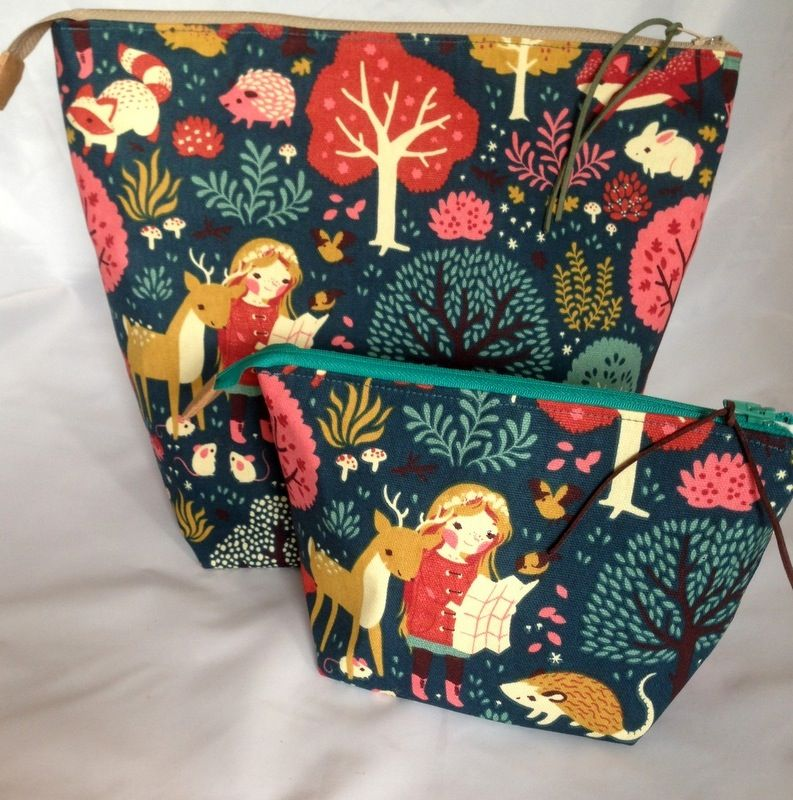 Image of Project Bag & Notions Pouch {Into The Wild}