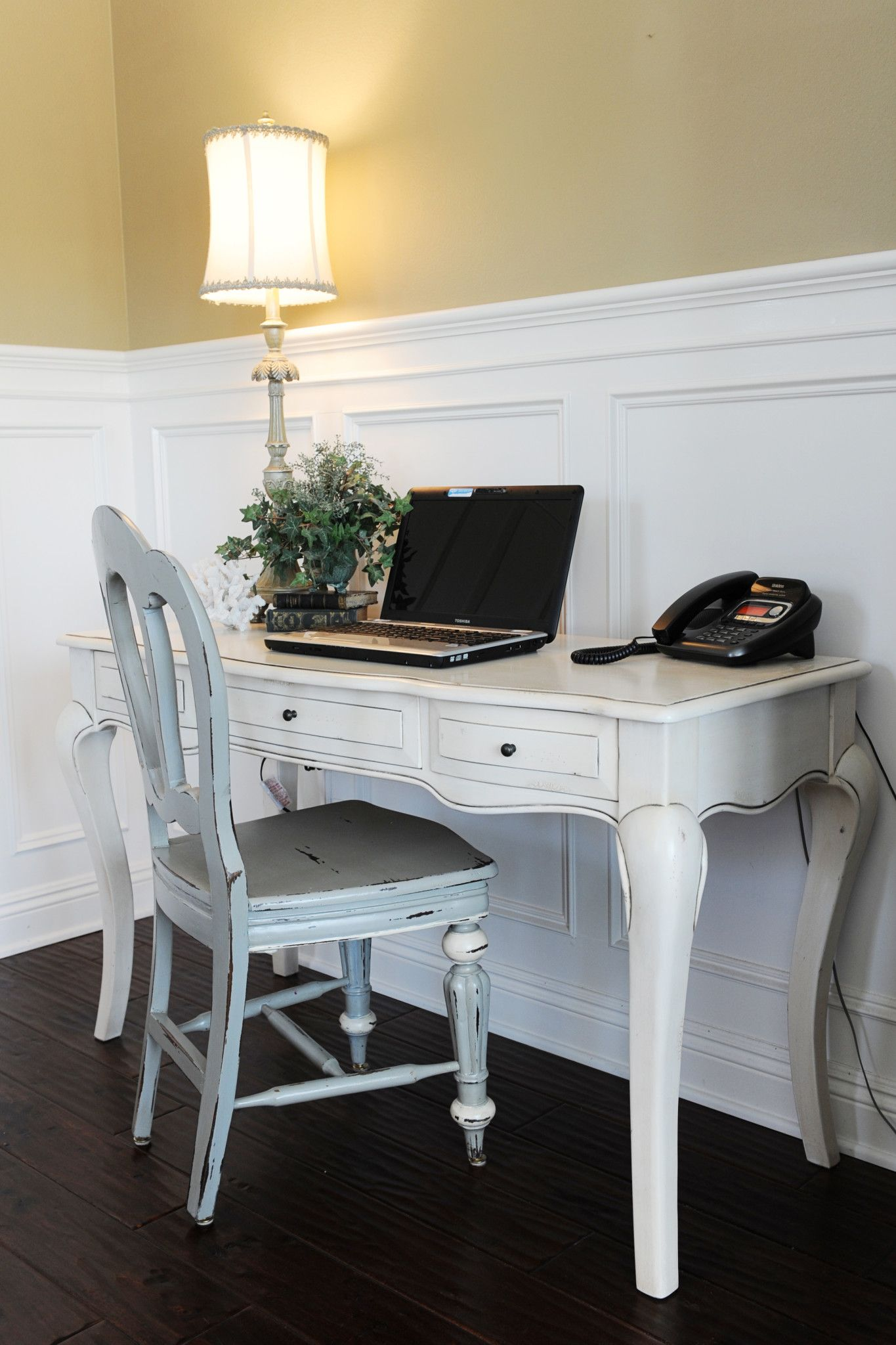 Interior Design Office Nook Update the Before and After