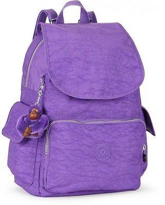 e854d1e0586 Kipling City Pack B Backpack Vivid Purple BNWT RRP £74   Backpacks ...