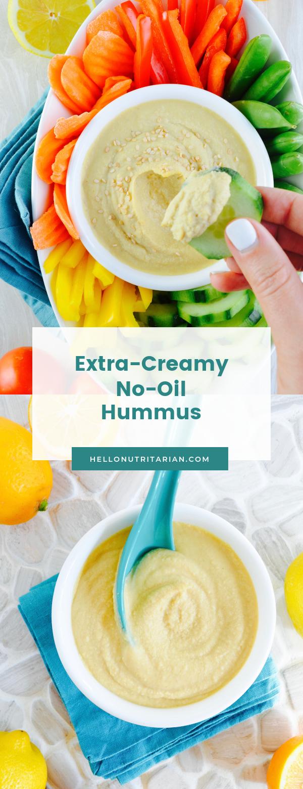 Extra Creamy No Oil Hummus
