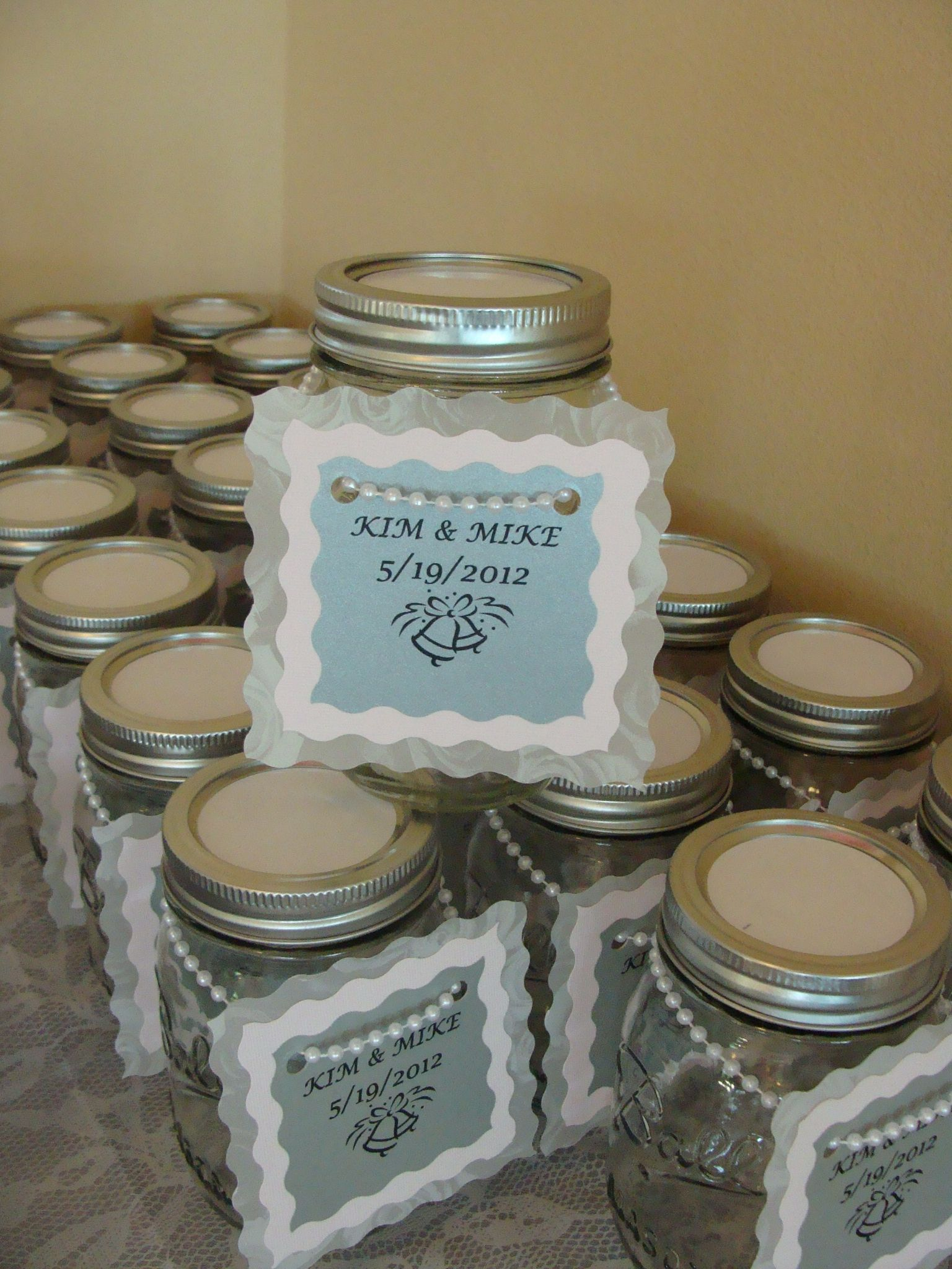 Mason Jars For Wedding Shower Candy Table Wedding Favor Sayings Wedding Sweets Mason Jars