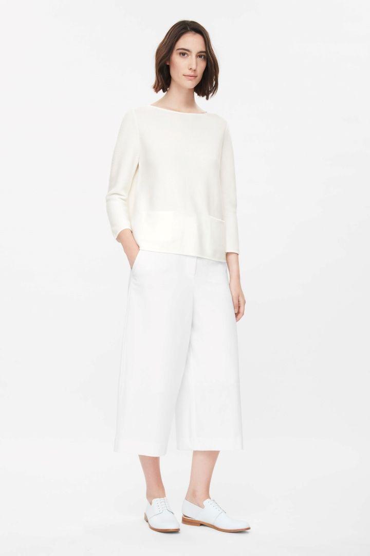 COS | A-line cotton jumper