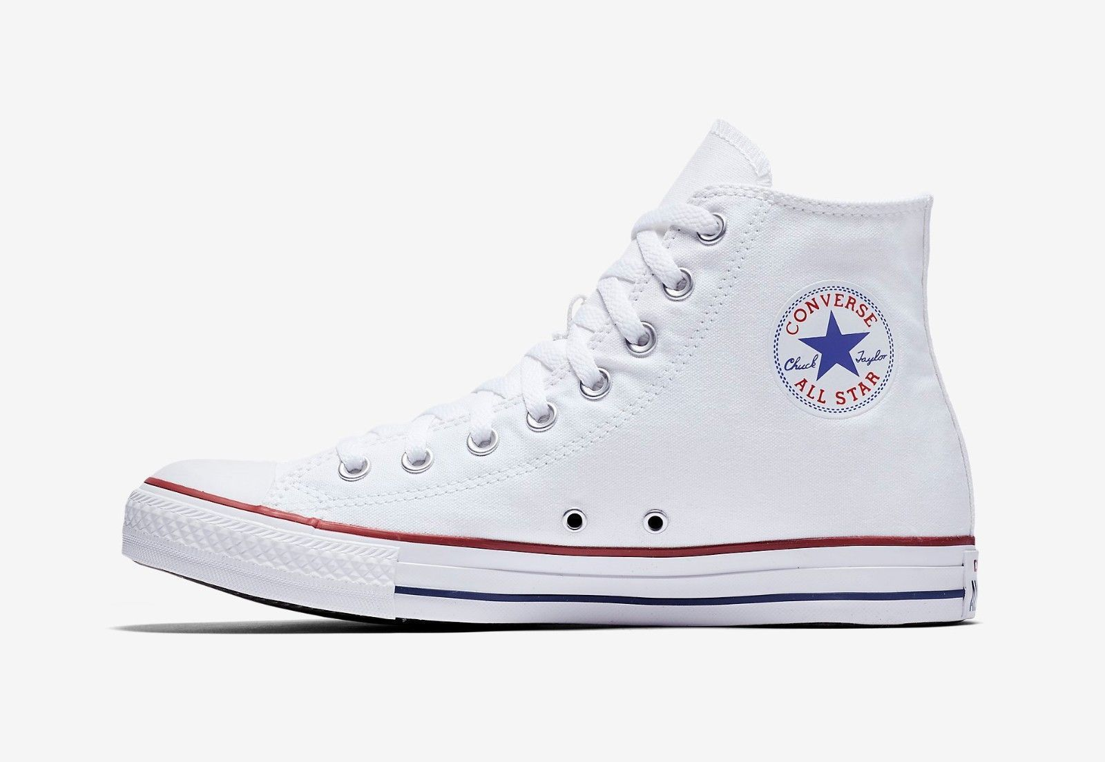 03113f3ec98 Converse Chuck Taylor All Star High Top Canvas Women Shoes M7650 - Optical  White