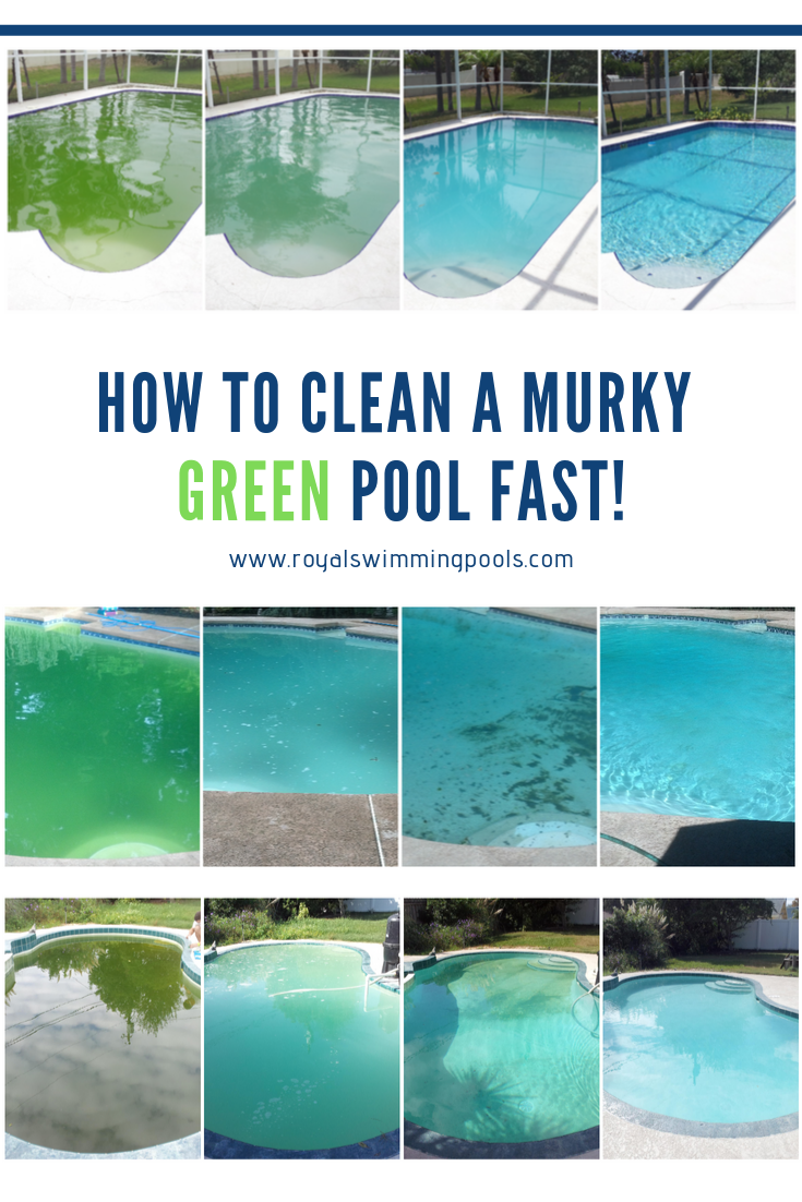 How To Clean A Murky Green Pool Fast With Revive Green Pool Pool Cleaning