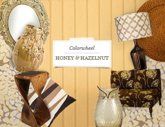 I pinned this from the Colorwheel: Honey & Hazelnut - Celebrate the Rich Colors of Fall event at Joss and Main!