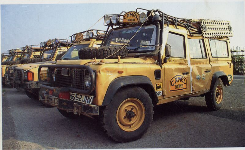Land Rover Defender 200tdi 110 Station Wagon Communications Truck