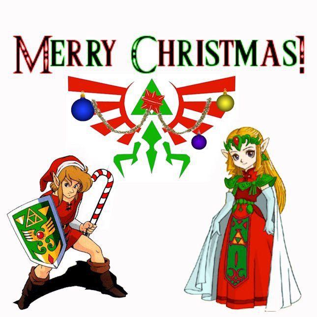 Zelda Christmas Card By Zelda5 On DeviantART