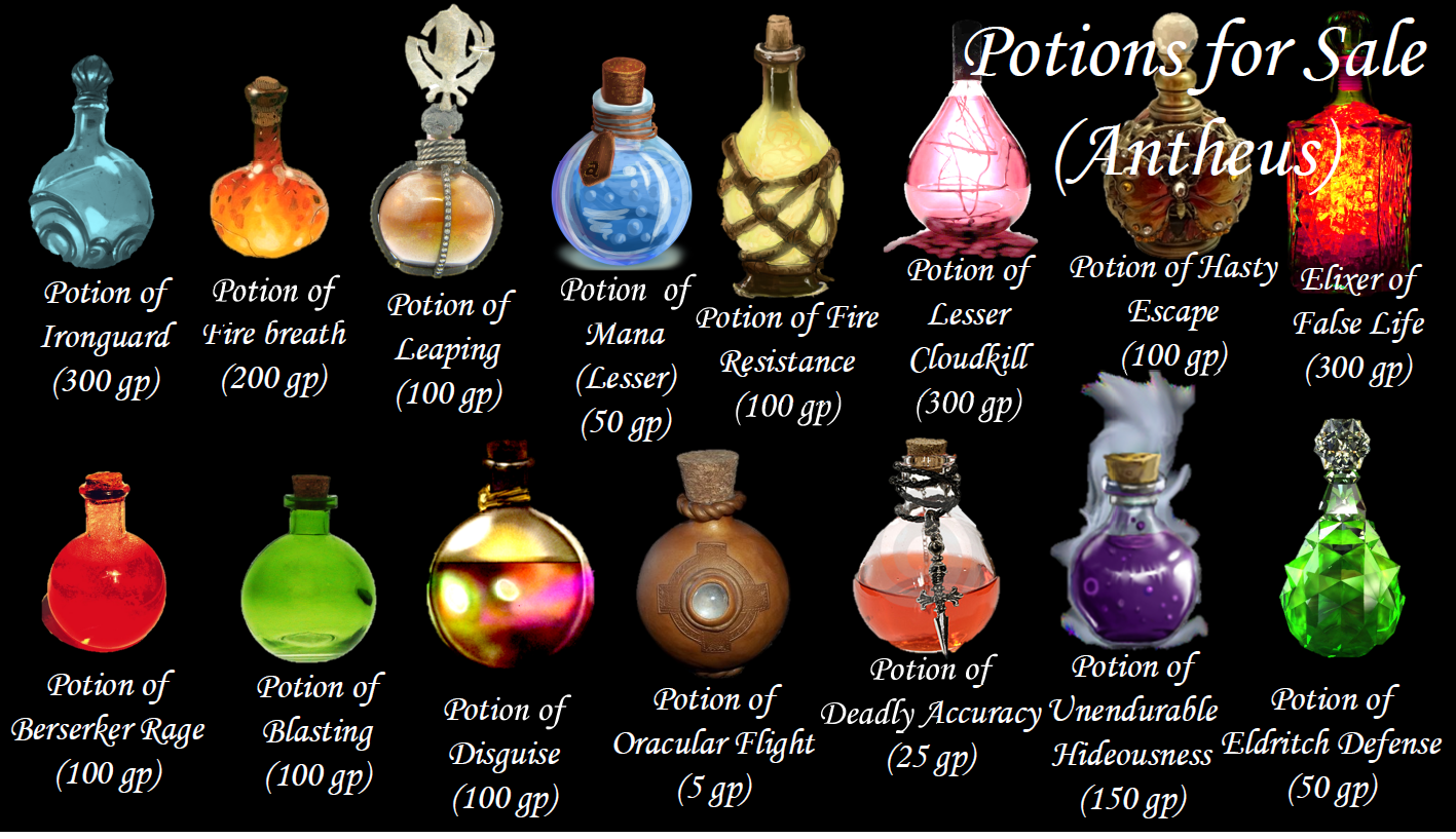 d&d potions - Google Search | Dragons my love in 2019