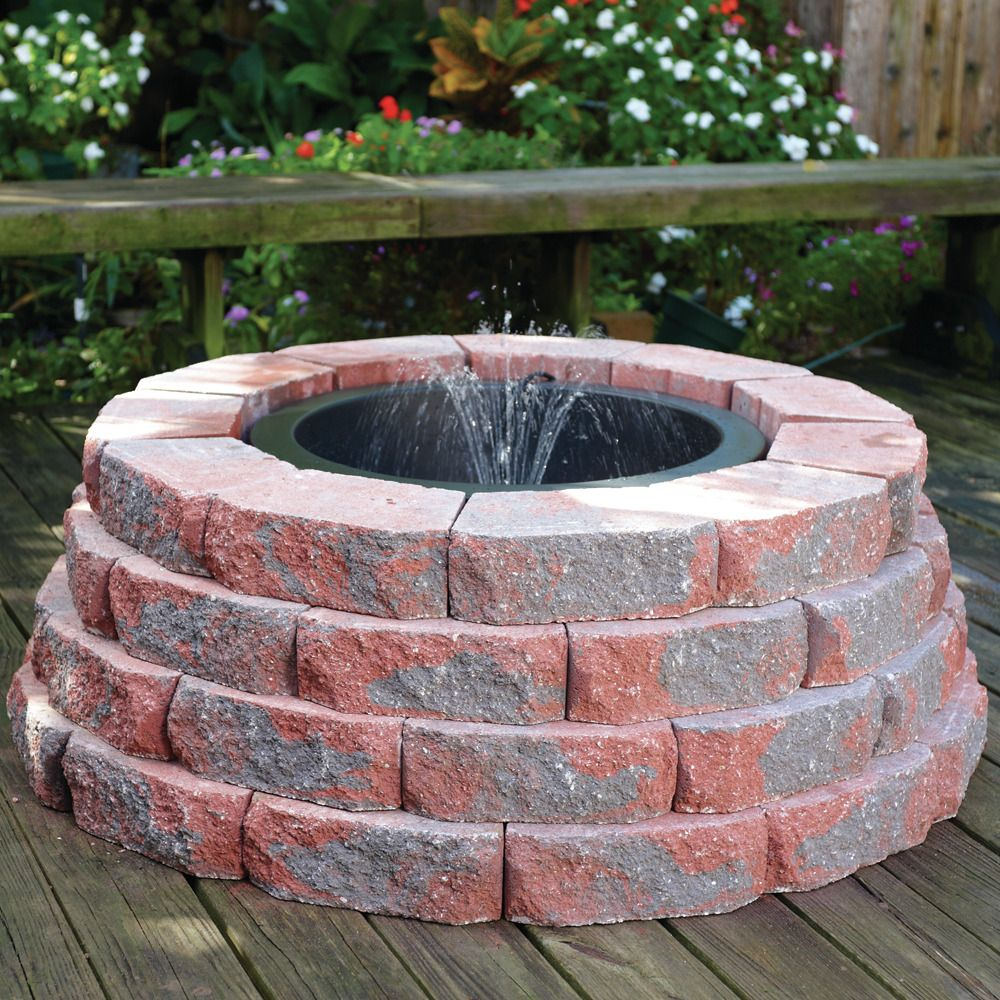 Above Ground Container Fountain Featuring A Container Fountain Kit Totalpond Containerpond Fountain Container Pond Pond Accessories Fountains Ponds