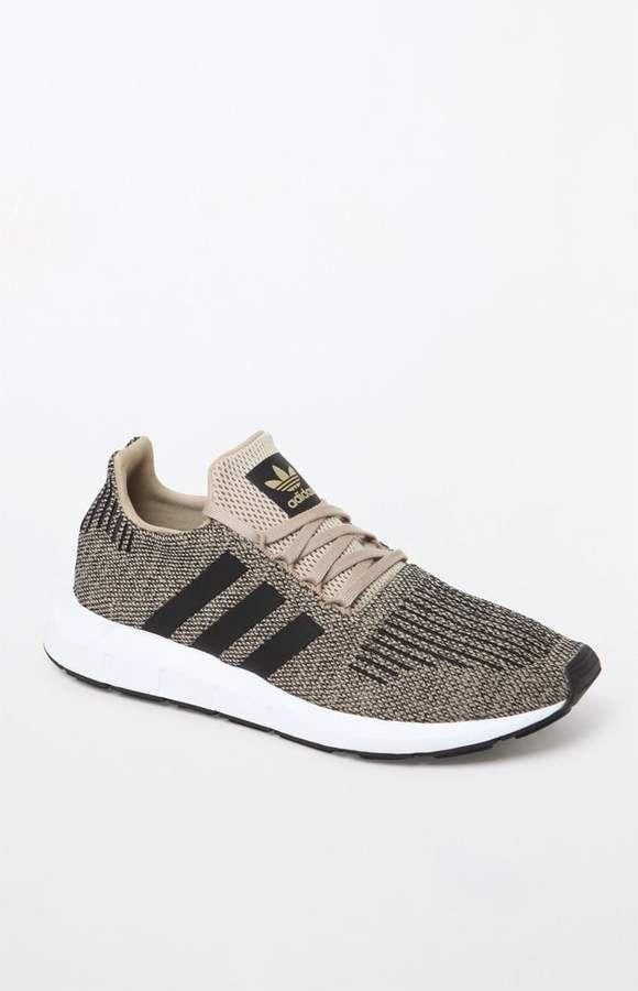 6e744d46027 adidas Swift Run Gold   Black Shoes