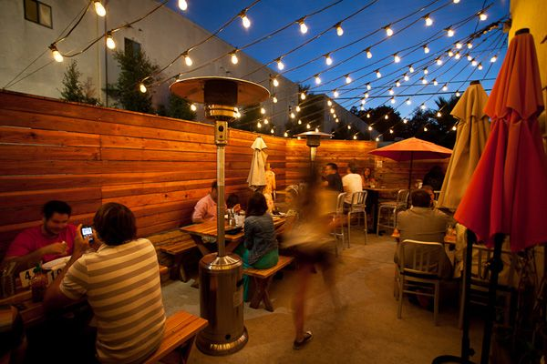 Leucadia: Fish Simple Grilled Seafood, Local Beer And Wine, And A Killer  Patio With Twinkle Lights.