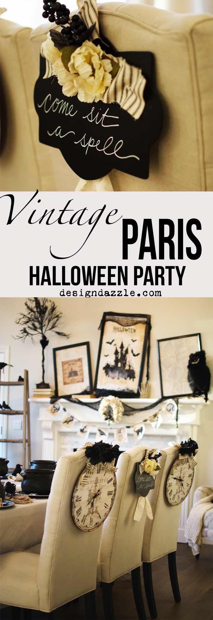 Best diy crafts ideas for your home this post shows how  created my halloween in paris themed party with mostly thi https diypick decor  also rh pinterest