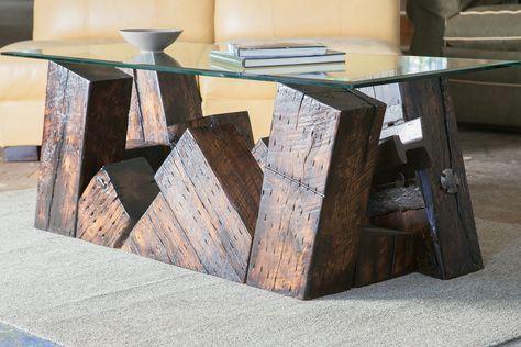 Derailment Coffee Table - Designer Furniture Nashville - Artisan ...