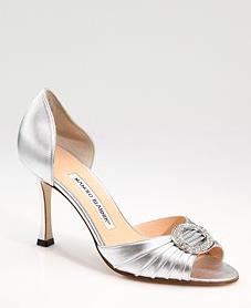 d'Orsay heels a la Carrie Bradshaw