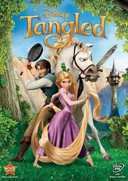 funny take on the Rapunzel fairytale....love Flynn and the horse was hilarious