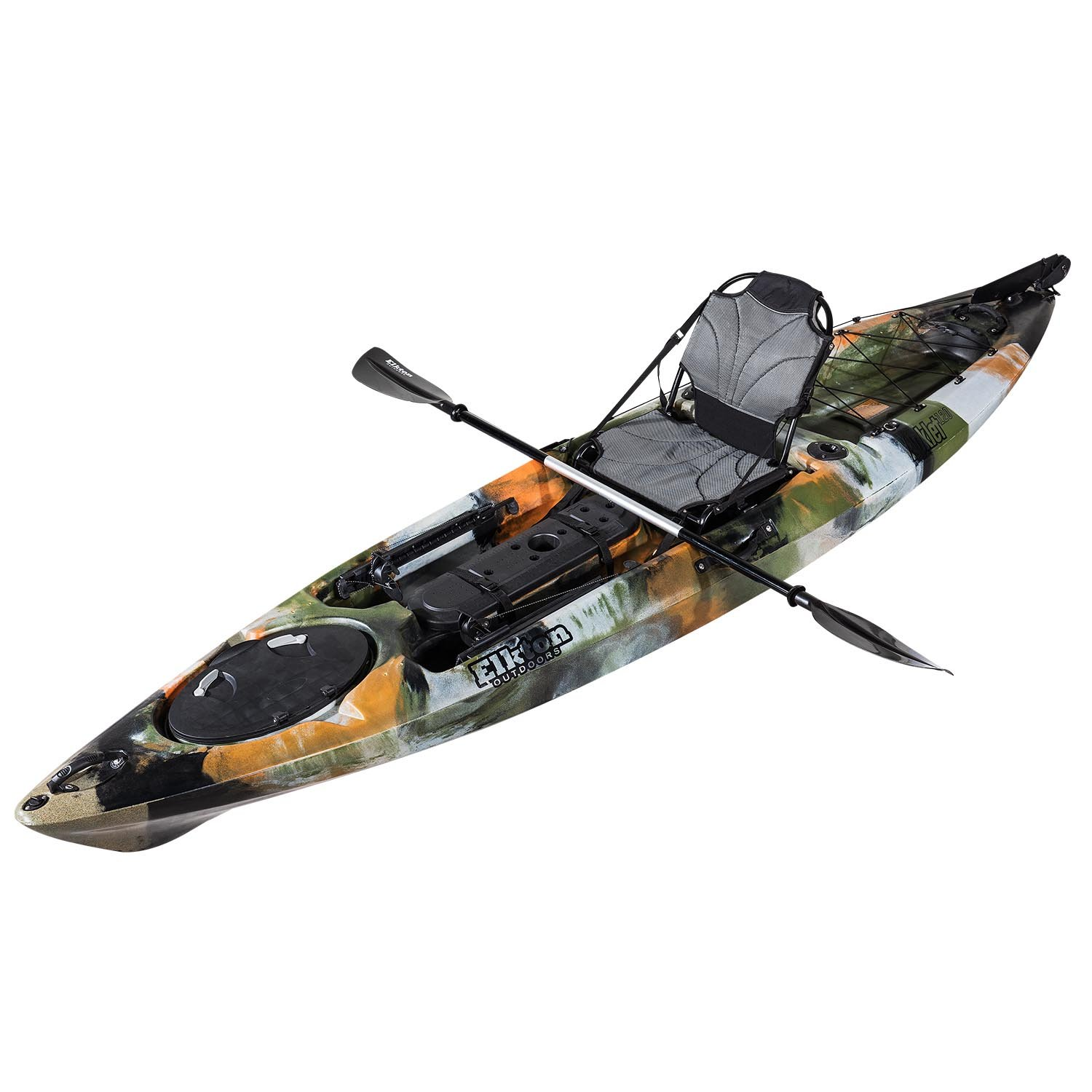 Auklet 120 12 Sit On Top Fishing Kayak With Smarttrack