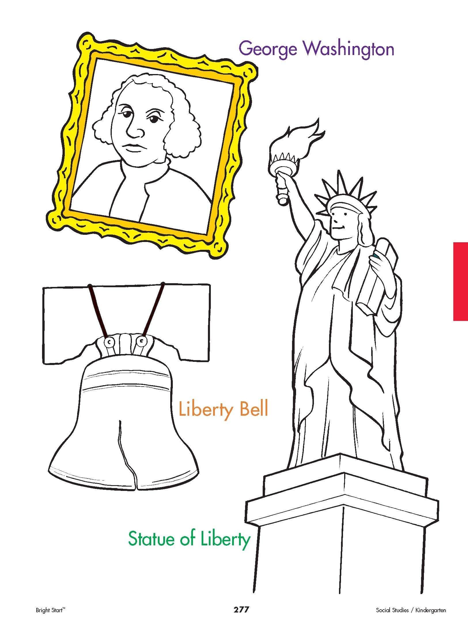 Landmarks And Symbols Your Kindergartener Can Practice