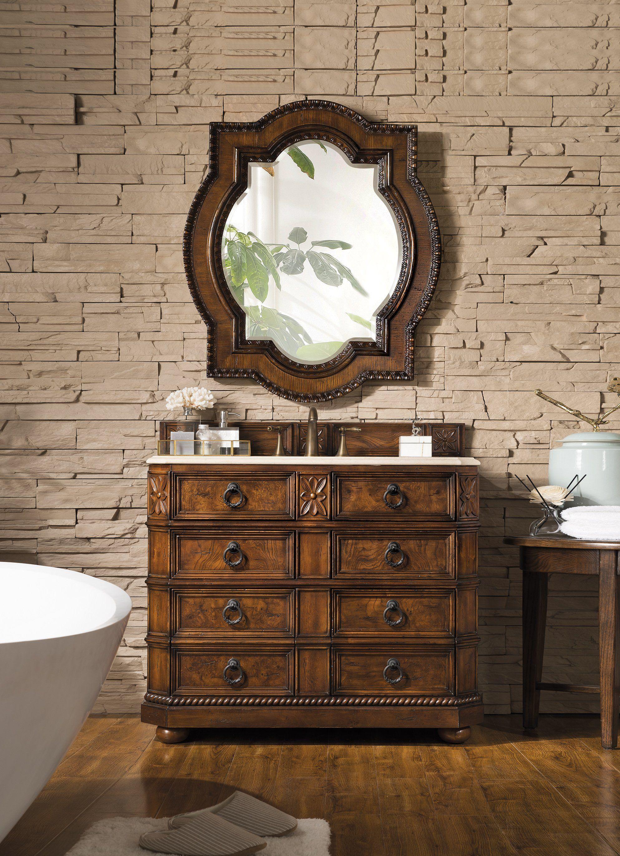 Regent 41 Single Sink Bathroom Vanity In 2021 Single Sink Bathroom Vanity Beige Marble Decorating Bathroom