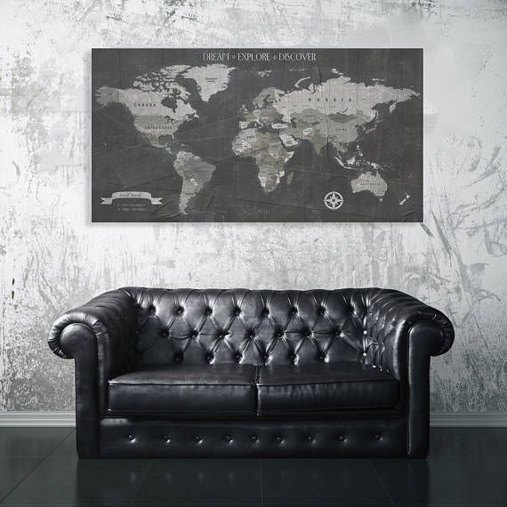Pushpin map canvas push pin map distressed world map world pushpin map canvas push pin map distressed world map world travels map gumiabroncs Image collections