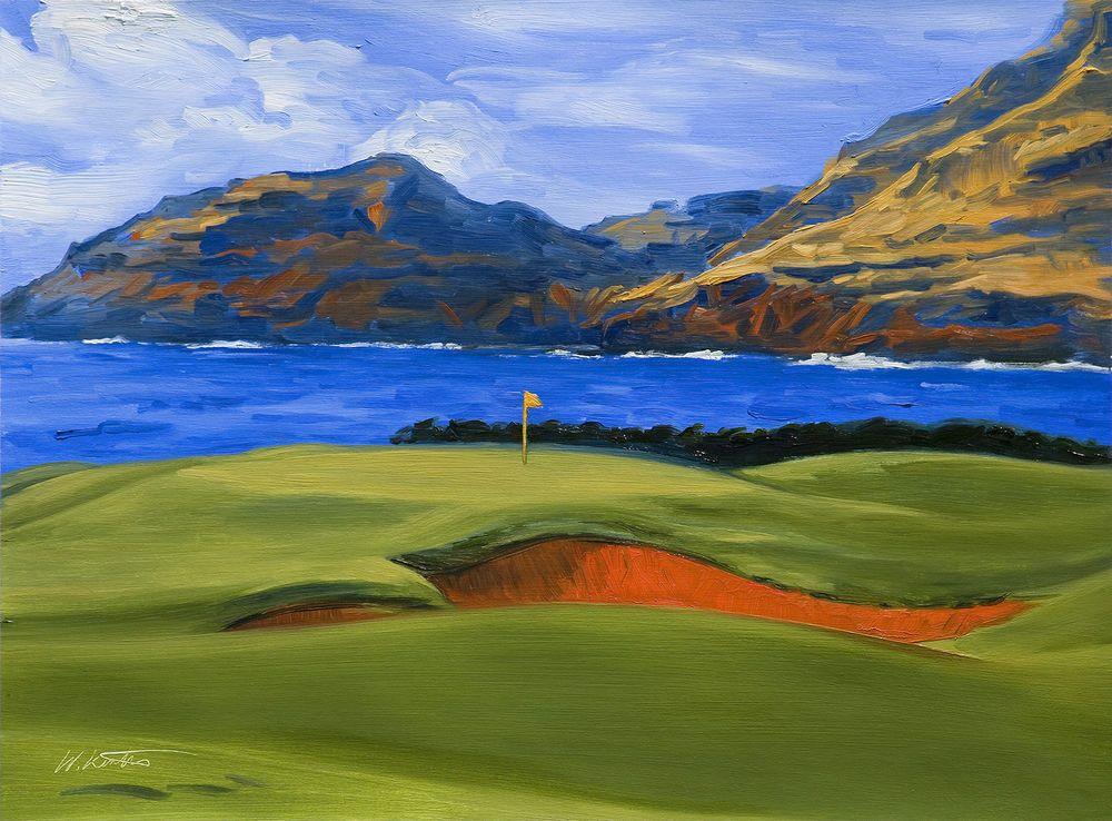 "just sold the print ""Par 3 Ocean Hole at Kauai Lagoons Golf Course ..."