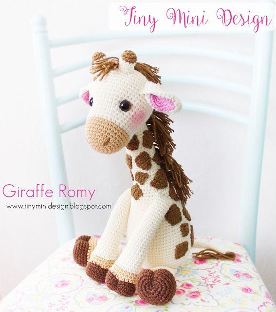 Amigurumi Zürafa Romy Amigurumi Giraffe Romy Tiny Mini Design