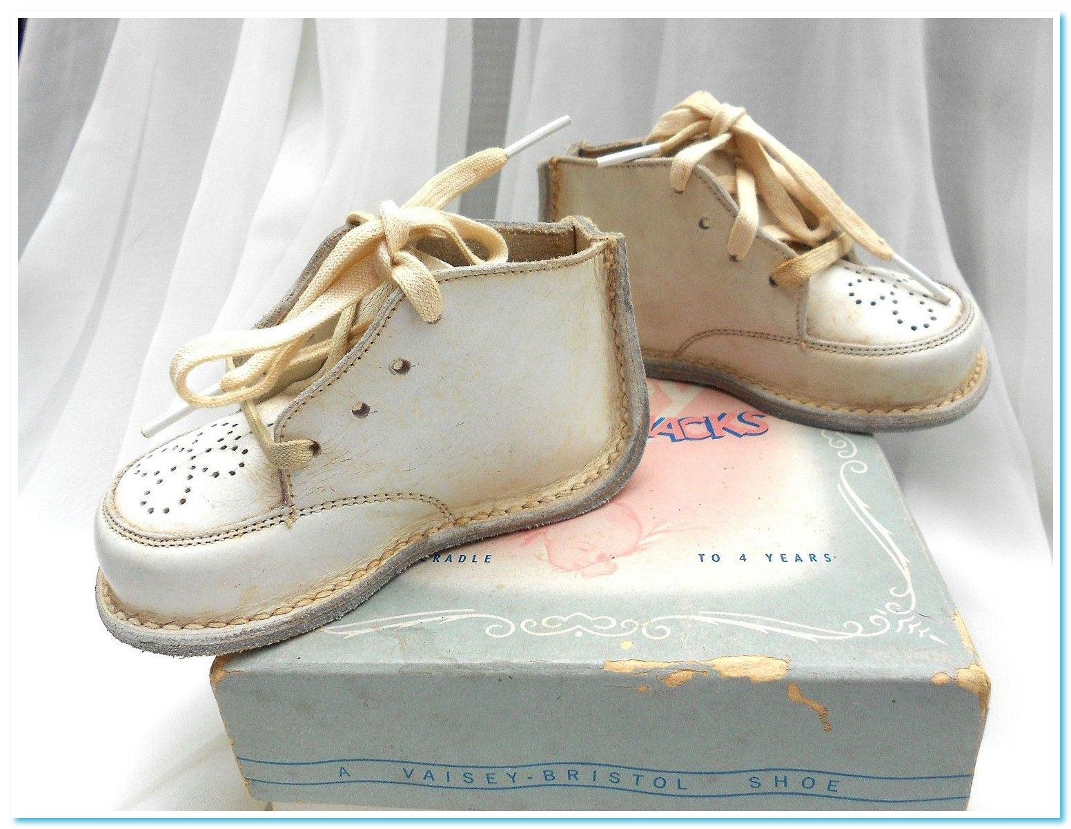 baby shoe Vintage old fashioned