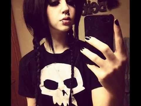 Alone Emo Girl Song Music Video Emo Videos Pinterest Emo - Emo girl hairstyle video