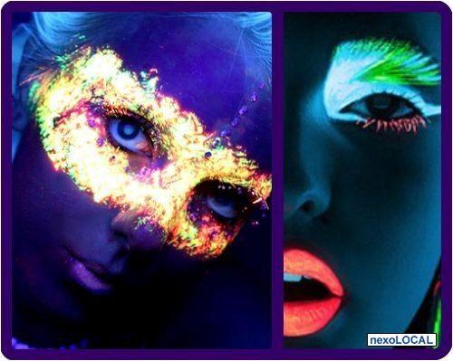 maquillaje neon CH 14 Pinterest