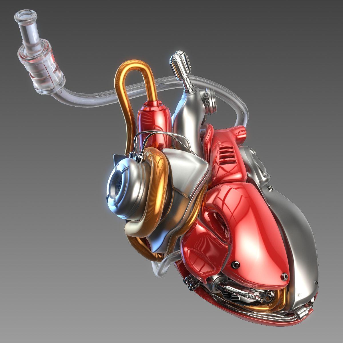 Artificial cyber heart #Artificial, #cyber, #heart | Graphic