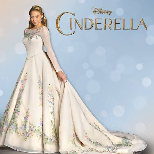 Lily James As Cinderella See Her Charming Wedding Dress 3