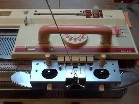 youtube machine a tricoter