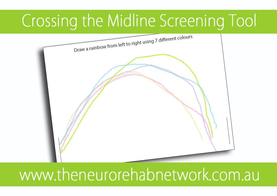 Crossing The Midline Screening Tool Crossing The Midline Assessment Crossing The Midline