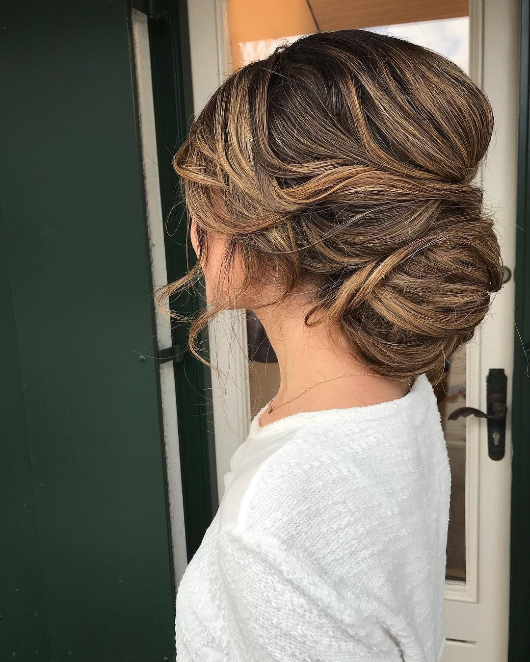 beautiful wedding hairstyles for a romantic bride braided updo