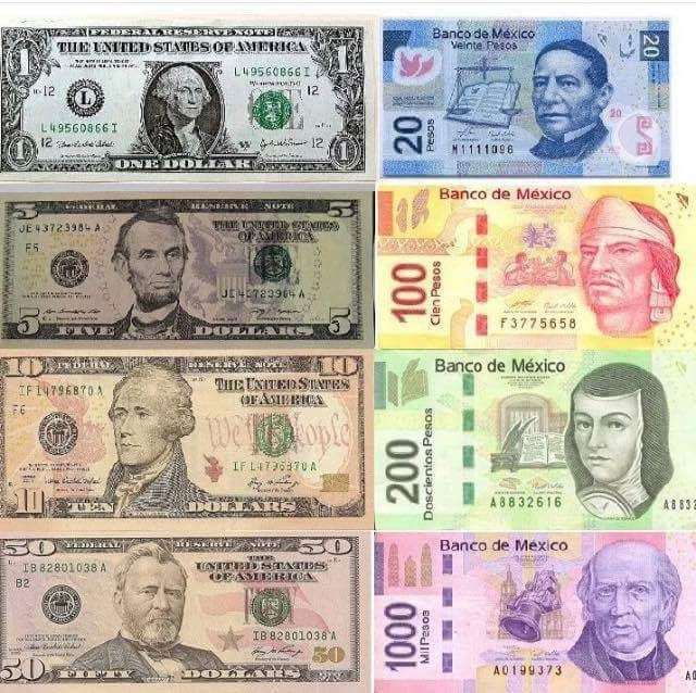 America To Mexican Money Chart In 2018 Cabo Pinterest