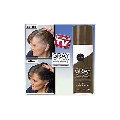 Gray Away Root Concealer- Dark Brown (Pack of 1) - BUY NOW ONLY 10.13