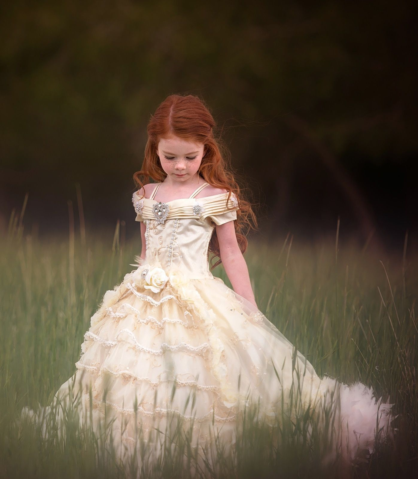 2f55c25df Woodland flower girl