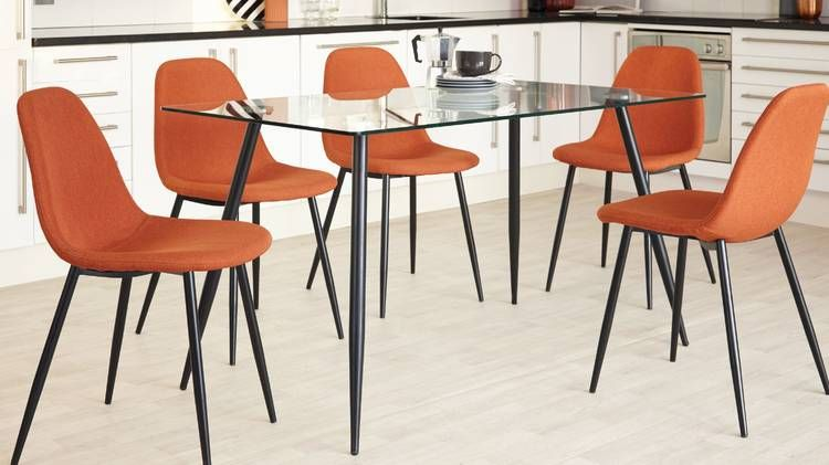 Zilo 4 To 6 Seater Gl Dining Table In 2019 Top Room