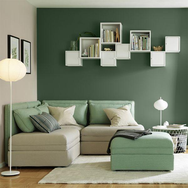 Ei fleksibel stue n apartament nel 2019 slaapkamer for Verfkleuren slaapkamer