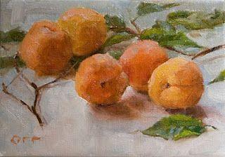 ANDREA ORR CLAGUE: Apricots