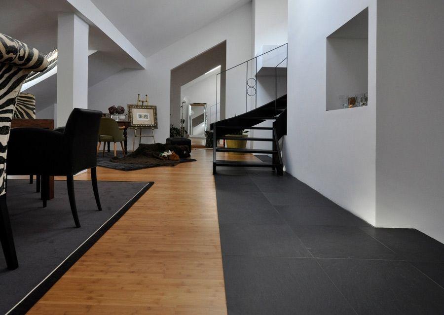 Schiefer Platten Oder Fliesen Fur Boden Wand Fassade Und Bad Holz Und Stein Steinboden Boden