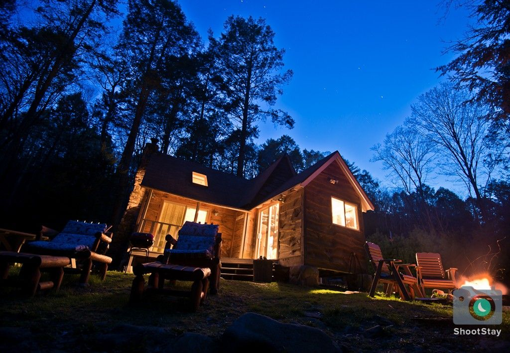 log pa luxury romantic cabins original getaways mountain living rentals mountains indian cabin pocono lakes in the