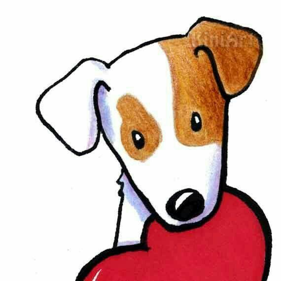 Рисунок собаки от пользователя Erna Spies Vlok на доске ...