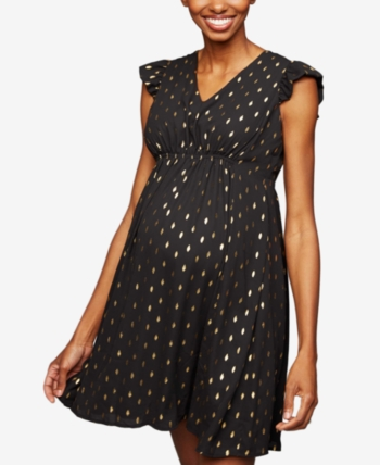 cute classic styles huge discount A Pea in the Pod Collective Concepts Maternity Dress, Short Sleeve ...