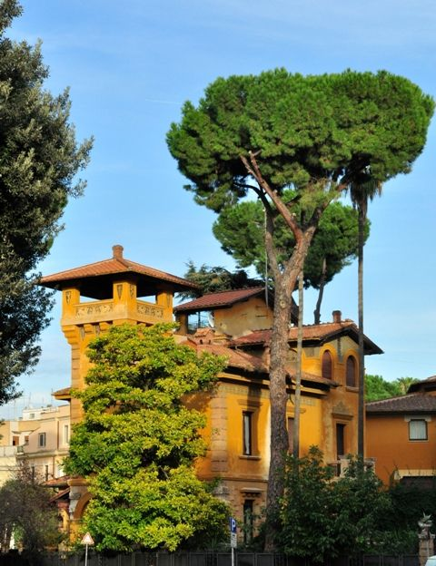 Quartiere Coppede Rome__
