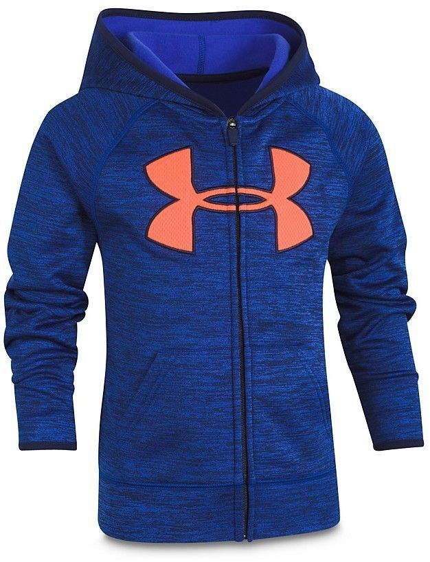 74b63362a913a Under Armour Boys  Big Logo Twist Hoodie - Little Kid