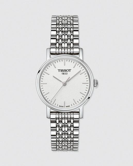 e4ac22d1f38 Reloj de mujer Tissot T1092101103100 de acero