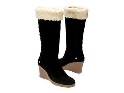 d7105d37835 Ugg Sandra Wedge Boot. I don't usually like Uggs, but these are cute ...