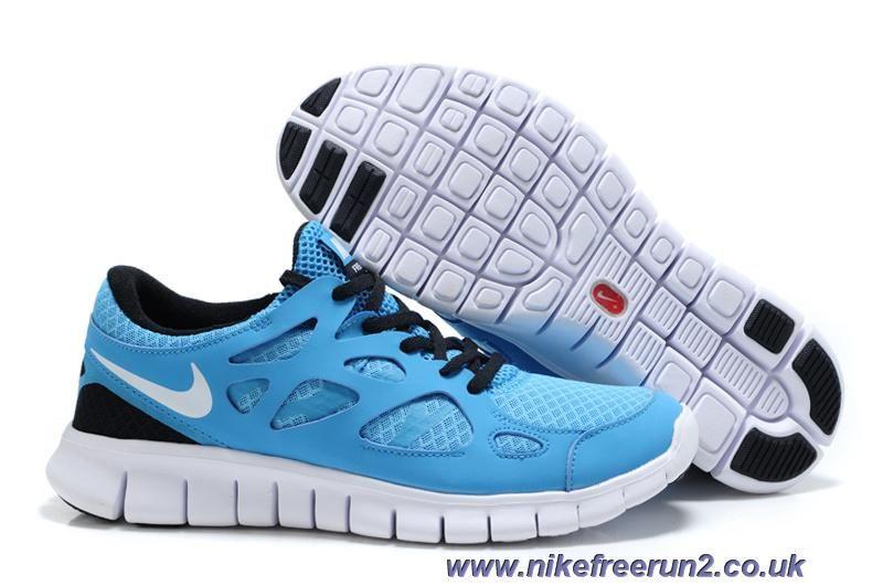 434206c3b083 Cheap Nike Free Run 2 Mens 443815-014 Blue Glow White Black