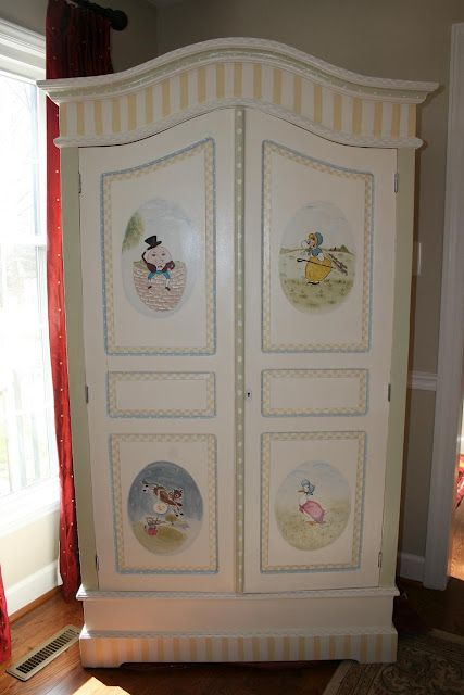 Beautiful Nursery Armoire
