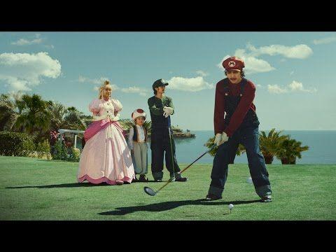 生田斗真マリオ姿でゴルフ